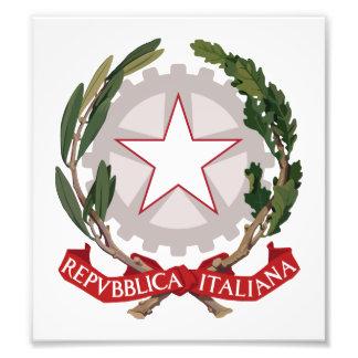 Escudo de armas de Italia Fotografías