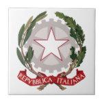 Escudo de armas de Italia Teja