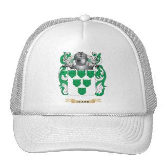 Escudo de armas de Izard (escudo de la familia) Gorro De Camionero
