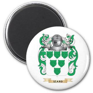 Escudo de armas de Izard (escudo de la familia) Iman De Frigorífico