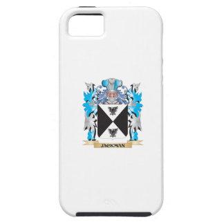 Escudo de armas de Jackman - escudo de la familia iPhone 5 Carcasas