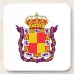 Escudo de armas de Jaén Posavasos De Bebidas
