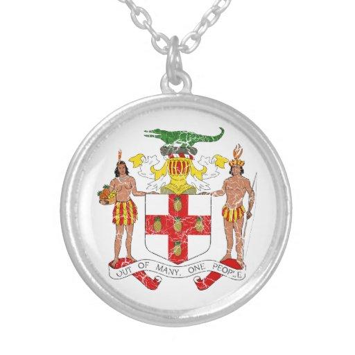 Escudo de armas de Jamaica Joyeria