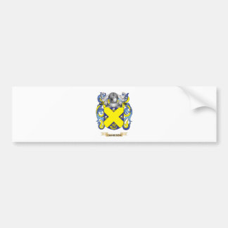 Escudo de armas de Jamieson (escudo de la familia) Pegatina De Parachoque