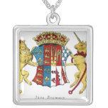 Escudo de armas de Jane Seymour Colgante Cuadrado