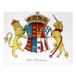 Escudo de armas de Jane Seymour Postal