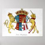 Escudo de armas de Jane Seymour Póster