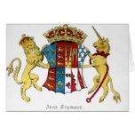 Escudo de armas de Jane Seymour Tarjeta De Felicitación