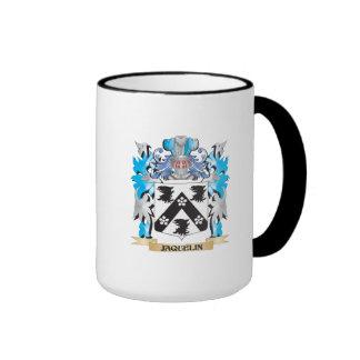 Escudo de armas de Jaquelin - escudo de la familia Taza De Café