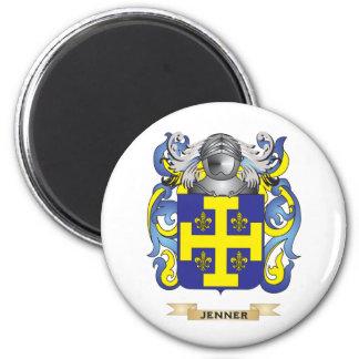 Escudo de armas de Jenner (escudo de la familia) Imán De Frigorifico