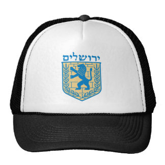 Escudo de armas de Jerusalén Gorra