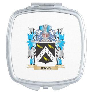 Escudo de armas de Jervis - escudo de la familia Espejos Para El Bolso
