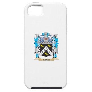 Escudo de armas de Jervis - escudo de la familia iPhone 5 Cobertura