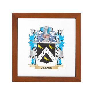 Escudo de armas de Jervis - escudo de la familia