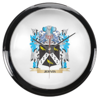 Escudo de armas de Jervis - escudo de la familia Relojes Aquavista