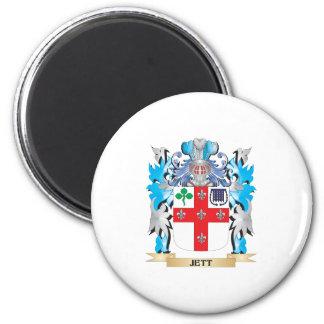 Escudo de armas de Jett - escudo de la familia Iman De Nevera