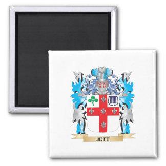 Escudo de armas de Jett - escudo de la familia Iman