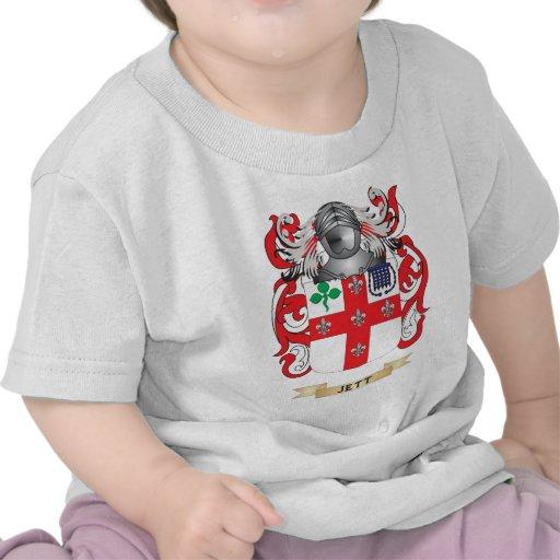 Escudo de armas de Jett (escudo de la familia) Camisetas