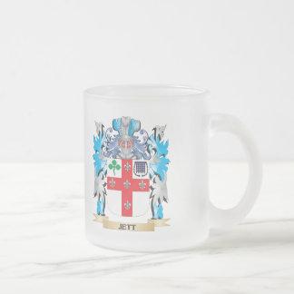 Escudo de armas de Jett - escudo de la familia Tazas De Café