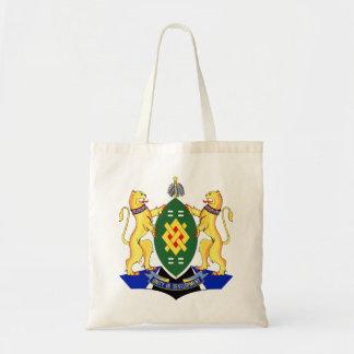 Escudo de armas de Johannesburg Bolsa Tela Barata