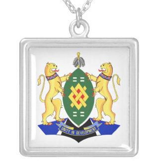Escudo de armas de Johannesburg Colgante Cuadrado