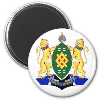 Escudo de armas de Johannesburg Imán Redondo 5 Cm