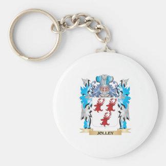Escudo de armas de Jolley - escudo de la familia Llaveros Personalizados