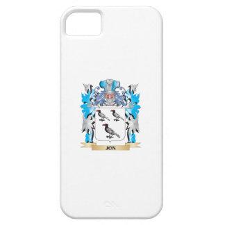 Escudo de armas de Jon - escudo de la familia iPhone 5 Case-Mate Cobertura