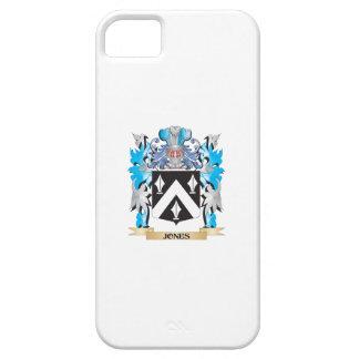 Escudo de armas de Jones - escudo de la familia iPhone 5 Carcasas