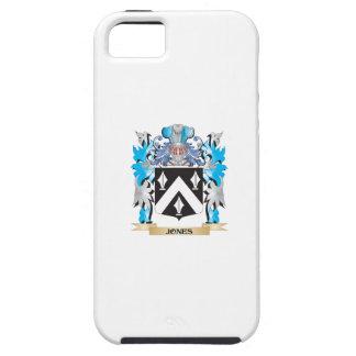 Escudo de armas de Jones - escudo de la familia iPhone 5 Case-Mate Funda