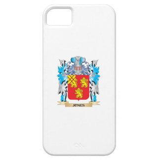 Escudo de armas de Jones - escudo de la familia iPhone 5 Fundas