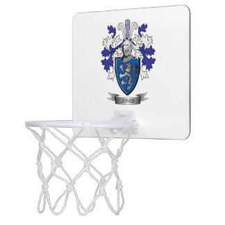 Escudo de armas de Jones Tablero De Baloncesto Mini