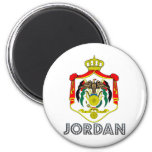 Escudo de armas de Jordania Iman Para Frigorífico
