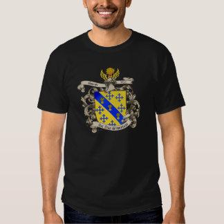 Escudo de armas de Juan Bancroft de Lynn, mA 1632 Playeras