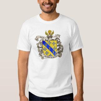 Escudo de armas de Juan Bancroft de Lynn, mA 1632 Poleras