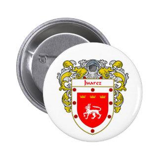 Escudo de armas de Juarez (cubierto) Pin