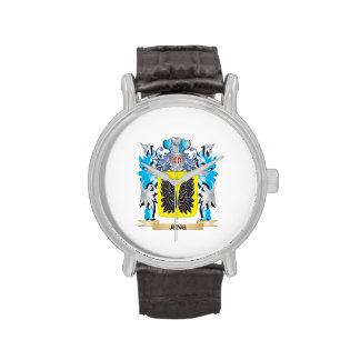 Escudo de armas de Jung - escudo de la familia Reloj