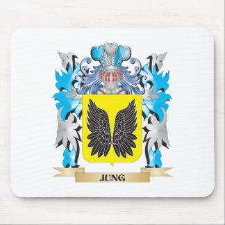 Escudo de armas de Jung - escudo de la familia Tapetes De Ratón