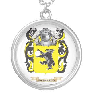 Escudo de armas de Kasparov (escudo de la familia) Colgantes Personalizados