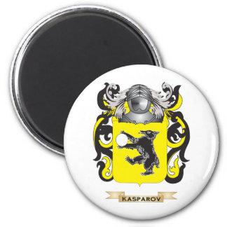 Escudo de armas de Kasparov (escudo de la familia) Imán De Frigorífico