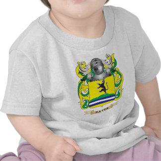 Escudo de armas de Kater (escudo de la familia) Camisetas