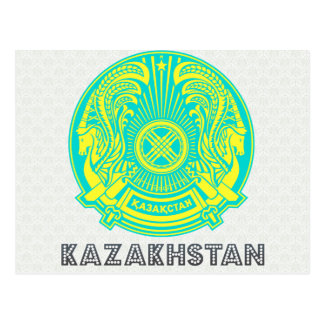 Escudo de armas de Kazajistán Postal