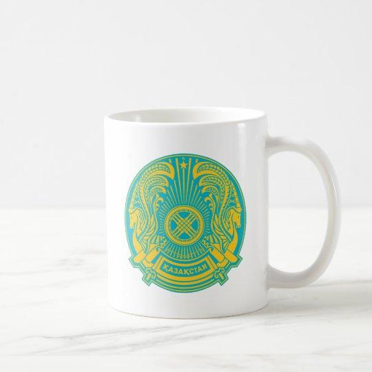Escudo de armas de Kazajistán Taza De Café