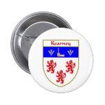 Escudo de armas de Kearney/escudo de la familia Pin