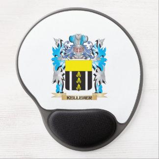 Escudo de armas de Kelleher - escudo de la familia Alfombrillas De Ratón Con Gel