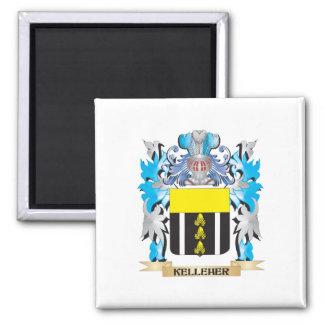Escudo de armas de Kelleher - escudo de la familia Imán Cuadrado