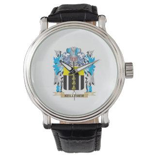 Escudo de armas de Kelleher - escudo de la familia Relojes