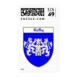 Escudo de armas de Kelly/escudo de la familia Envio