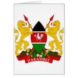 Escudo de armas de Kenia