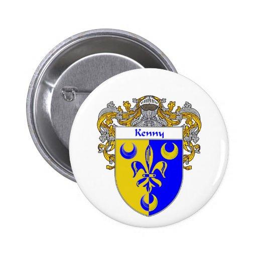 Escudo de armas de Kenny (cubierto) Pins
